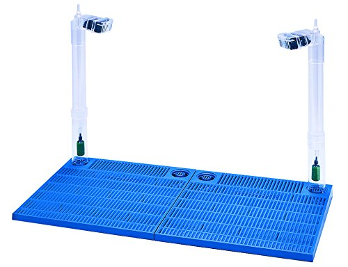 Penn Plax Premium Under Gravel Filter System - for 40-55 Gallon Fish Tanks & Aquariums, Blue (CFU55)