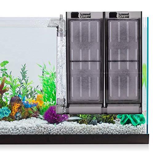 hygger 6-10 Gallon Aquarium Bubbler Filter Air Driven Small Fish Tank Sponge Filter for Betta Fish Shrimp Tank