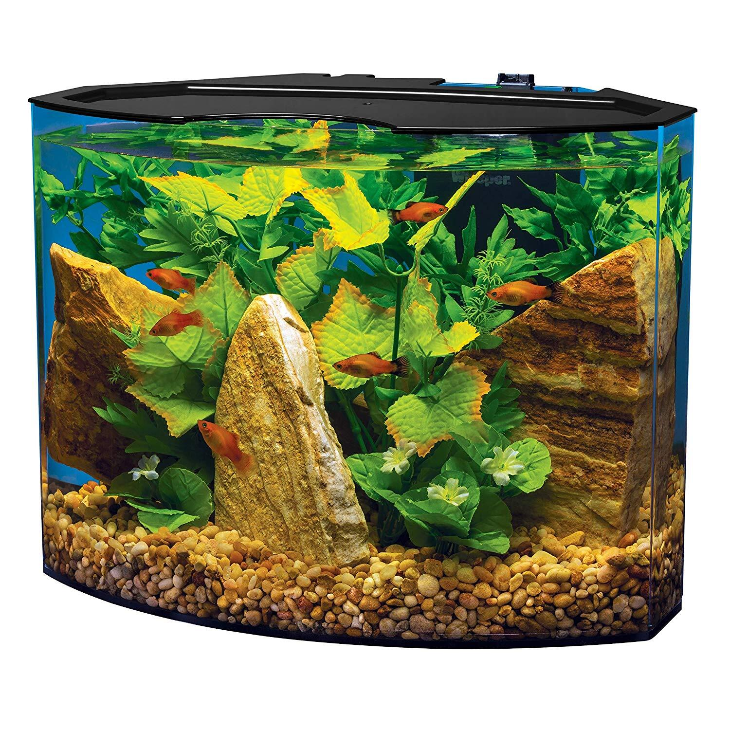 Tetra Crescent Acrylic Aquarium Kit